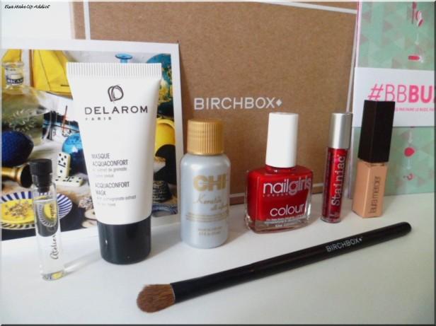 Birchbox Octobre 3