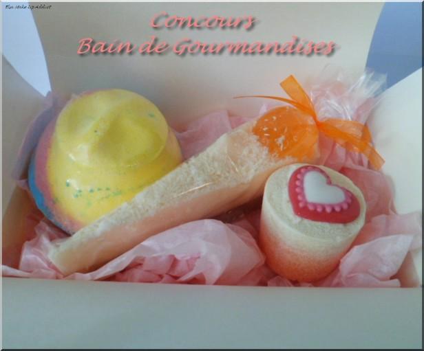 Concours Bain de Gourmandises