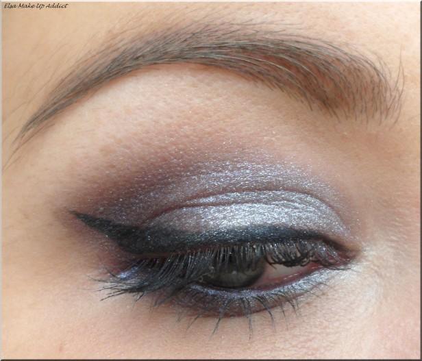 Maquillage violet argenté Vice 2 1