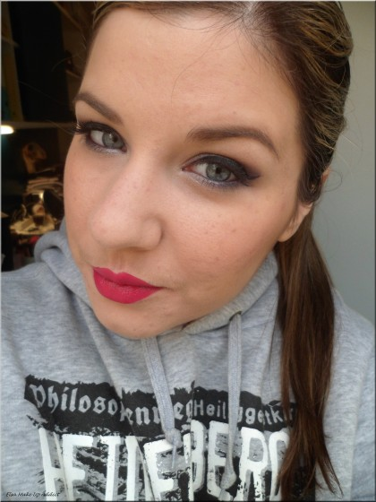 Maquillage violet argenté Vice 2 3