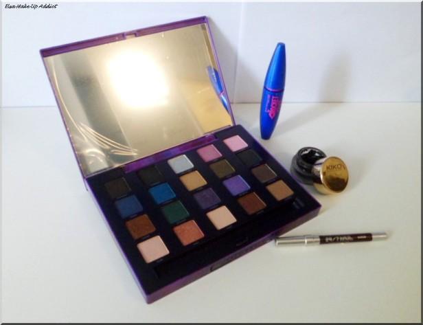 Maquillage violet argenté Vice 2 4