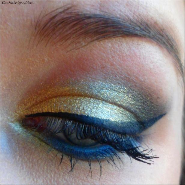 Make Up Fête Doré-Bleu Vice 2 2