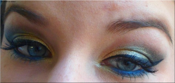 Make Up Fête Doré-Bleu Vice 2 3