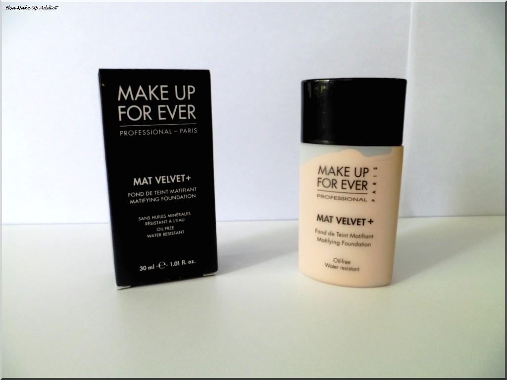 mat velvet de make up for ever pour un teint sans d faut elsa makeup addict. Black Bedroom Furniture Sets. Home Design Ideas