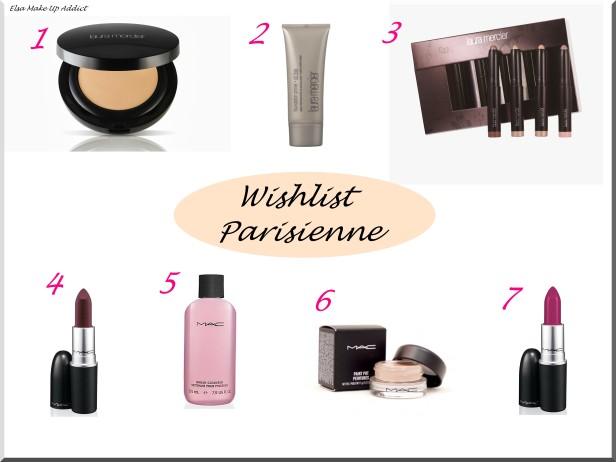 Wishlist Parisienne