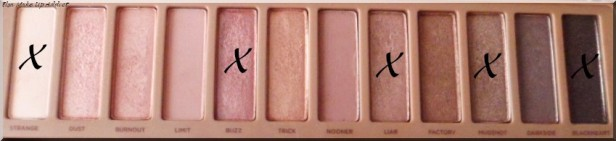 Make Up Rose Naked 3 5
