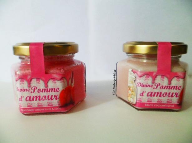 Divine Pomme d'amour Beurre et Gommage Bain de Gourmandises 2