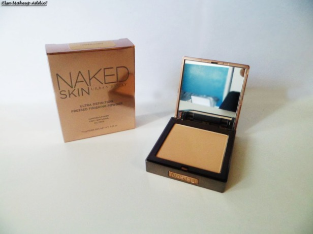 Poudre Naked Skin UD 4