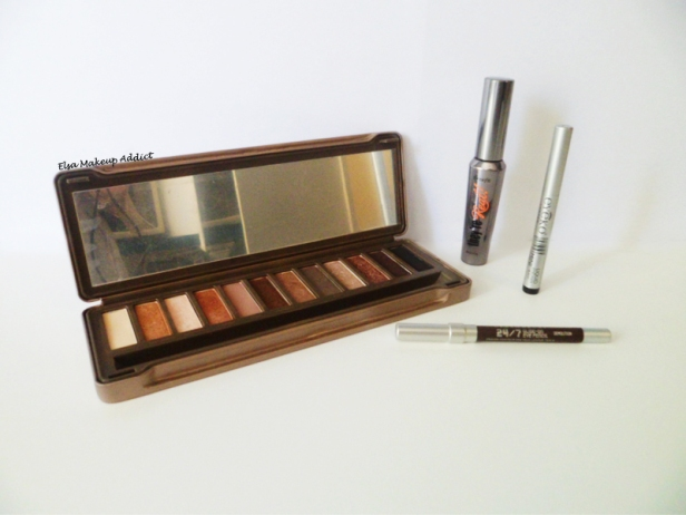 Makeup quotidien lumineux Naked 2 4
