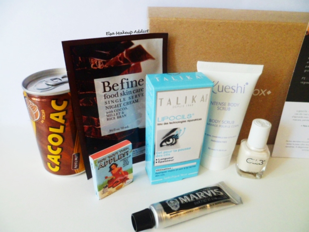 Birchbox Avril Flagrants Délices 3