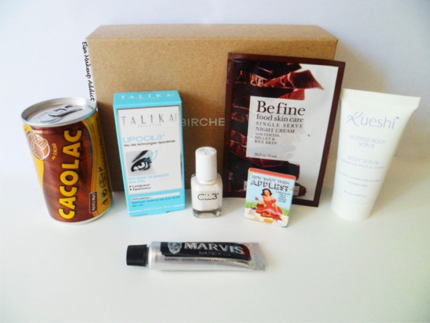 Birchbox Avril Flagrants Délices 4