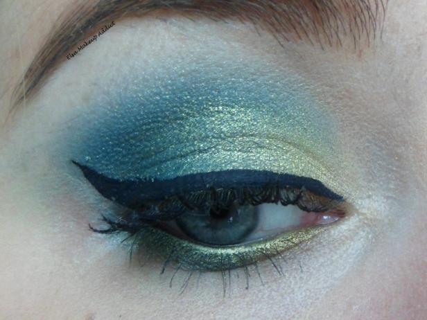 Makeup vert-doré Vice UD 1