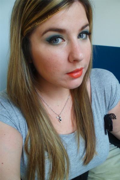 Makeup vert-doré Vice UD 3