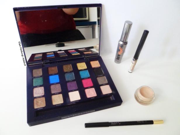 Makeup vert-doré Vice UD 4