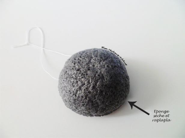 Eponge Konjac Peaux Mixtes à Grasses à imperfections 2