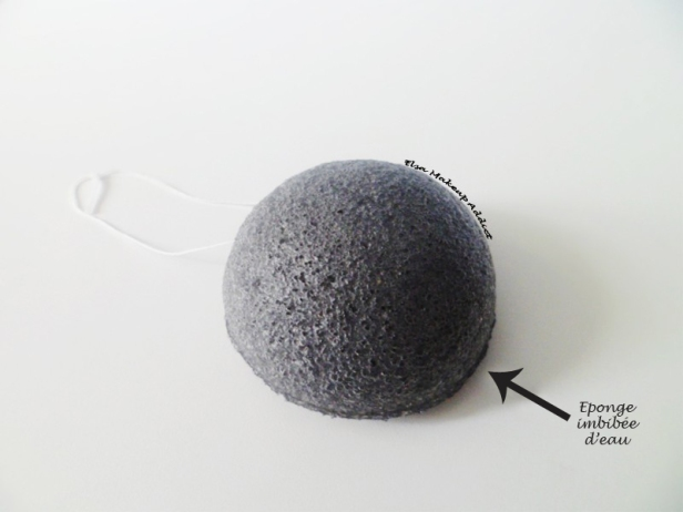 Eponge Konjac Peaux Mixtes à Grasses à imperfections 3