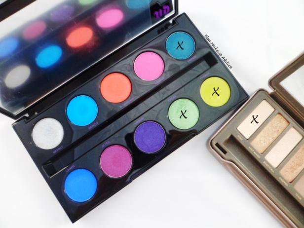 Makeup Vert Electric Palette UD 5