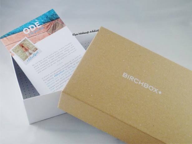 Birchbox Août 2014 1