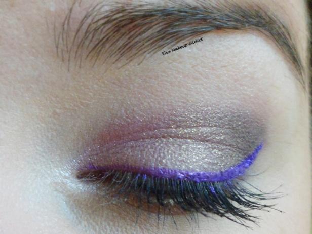 Violet Makeup 1