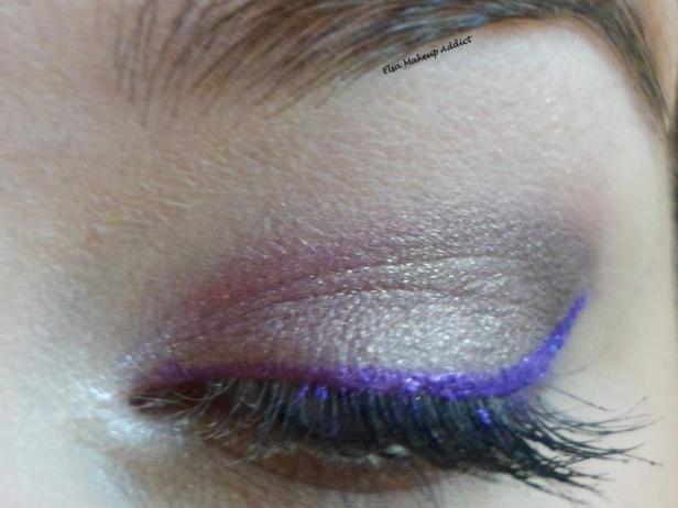 Violet Makeup 2
