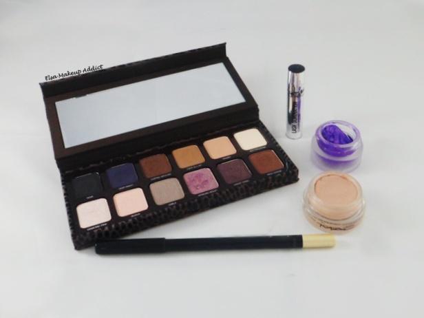 Violet Makeup 3