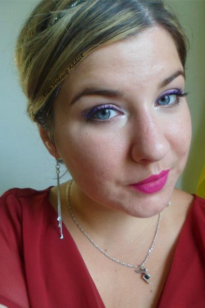 Violet Makeup 5