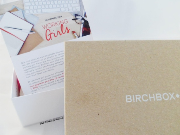 Birchbox Septembre 2014 1