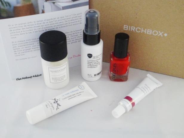 Birchbox Octobre 2014 3