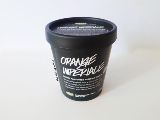 Crème Orange Impériale Celebrate Lush 1