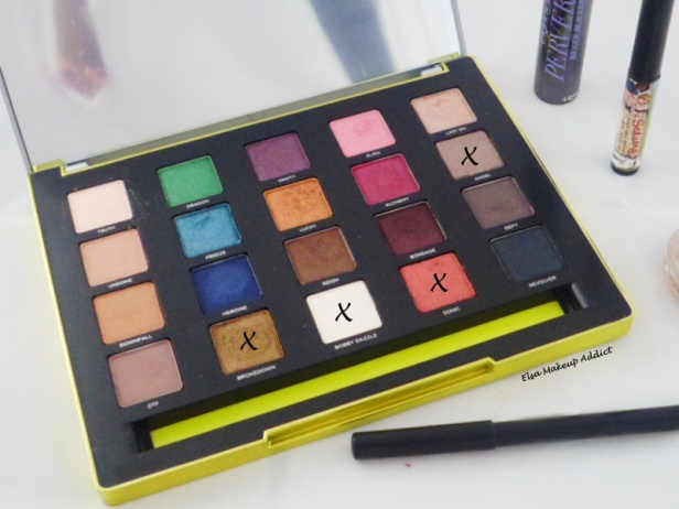 Makeup Automnal mais coloré Vice 3 Urban Decay 5