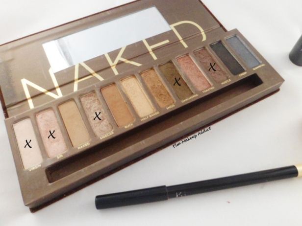 Makeup Quotidien Naked Palette 5