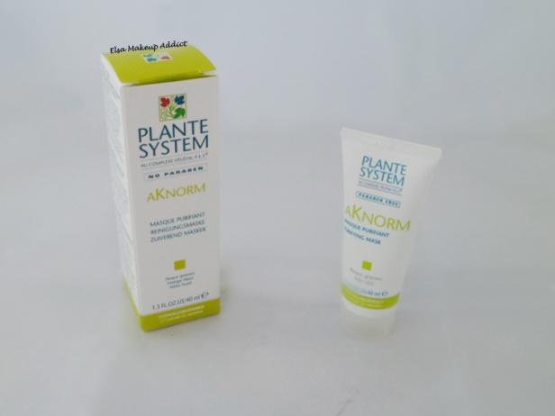 Masque Purifiant Aknorm Plante System 1