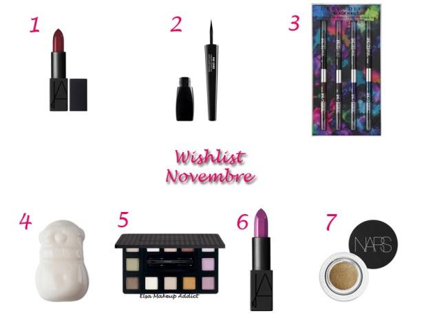Wishlist Novembre 2014