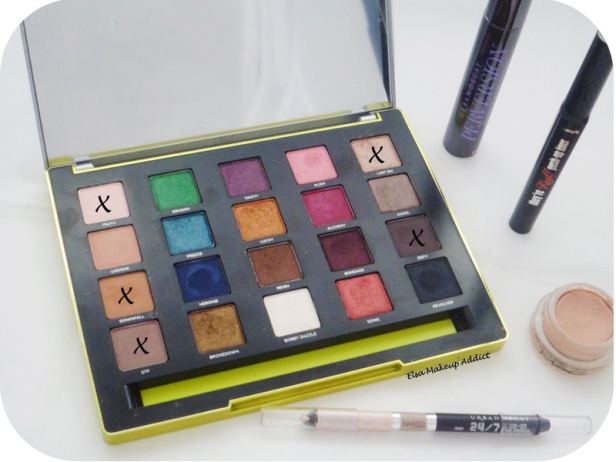 Makeup Neutre & Mat Vice 3 UD 5