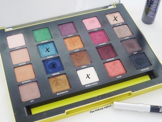 Makeup Yeux Océans Vice 3 UD 5