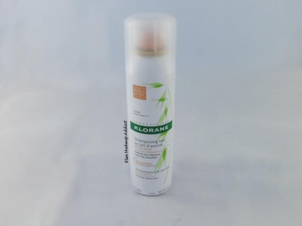Shampooing sec lait d'avoine cheveux châtains à bruns Klorane 2