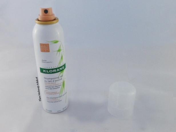 Shampooing sec lait d'avoine cheveux châtains à bruns Klorane 3