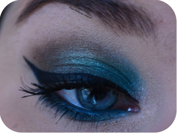Makeup Blue Sepia MUFE 1