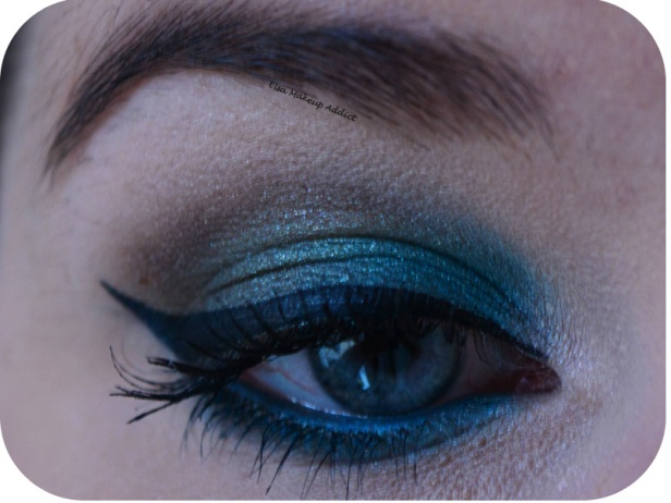 Makeup Blue Sepia MUFE 2