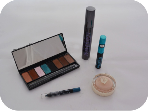 Makeup Blue Sepia MUFE 3