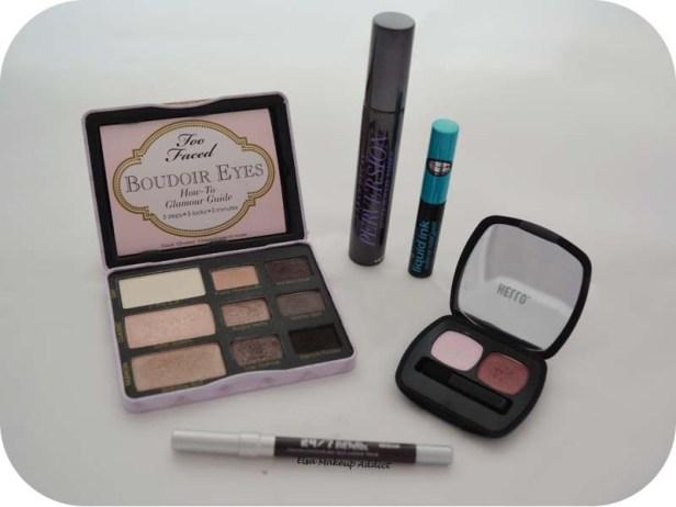 Makeup Rose & Violet d'Hiver 3