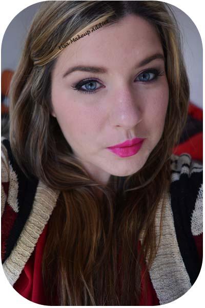 Makeup Rose & Violet d'Hiver 5