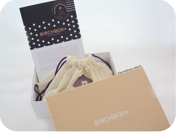 Birchbox Avril 2015 Destination Beauté 1