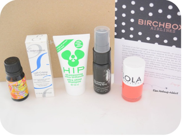 Birchbox Avril 2015 Destination Beauté 3