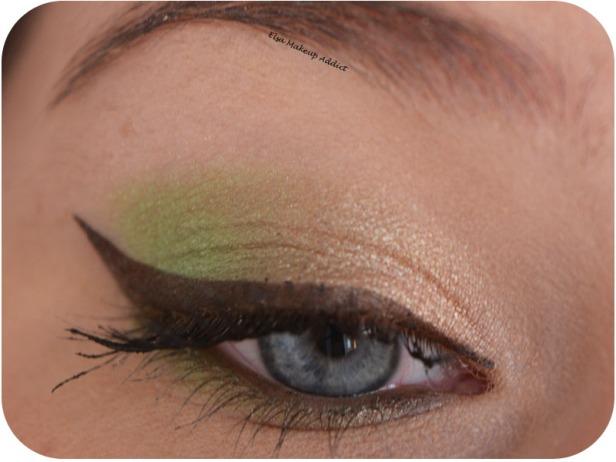 Makeup Printanier Vert Pomme 1