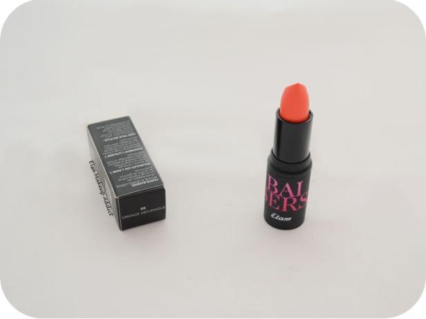 Rouge à lèvres Porte Baiser Orange Mécanique Etam 1
