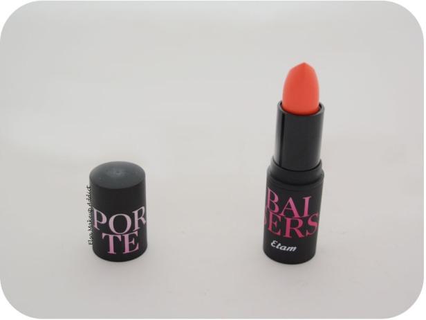 Rouge à lèvres Porte Baiser Orange Mécanique Etam 2