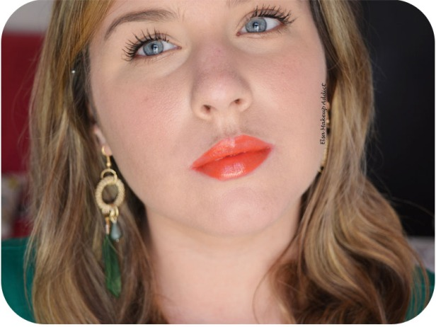 Rouge à lèvres Porte Baiser Orange Mécanique Etam 5