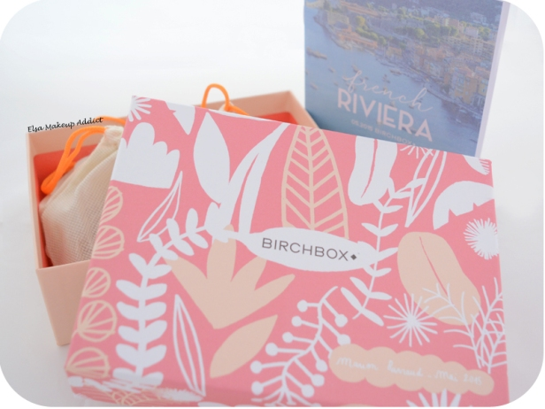 Birchbox Mai 2015 French Riviera 1