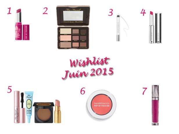 Wishlist Juin 2015